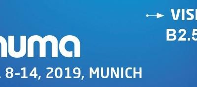 We are at Bauma 2019